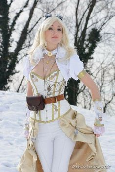 Sexy white cosplay https://www.steampunkartifacts.com