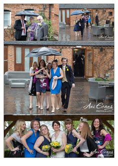 Wethele Manor Wedding Photography Wet weather