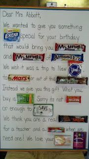 I love this idea its great for any occasion graduation birthday party or end of the school year you could use this for anything that you wanted to to show somebody how special they are my friend has done this before and it's a very cool idea I wish I would have thought of it. now I can use this idea for anybody.