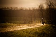 Motorcycle Photography - Dirt Road