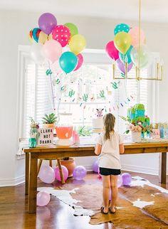 The Cutest Llama Llama Birthday Party - Kindergeburtstage - Birthday Party For Teens, 1st Birthday Girls, Birthday Bash, Birthday Party Decorations, Lama Lama, Sleepover Cake, Bd Design, Llama Birthday, Birthdays