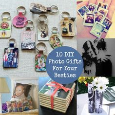 10 Unique DIY Photo Crafts to Chronicle Your Friendship #MobilePrint #sponsored