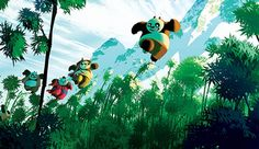 9781608874941_int1 Kung Fu Panda 3, Kai, Dreamworks Animation, A Cartoon, Feature Film, Storytelling, Concept Art, Comic Books, Christmas Ornaments