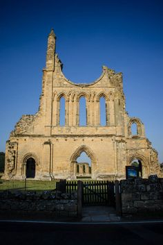 Byland Abbey in North Yorkshire