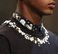 Details of Givenchy SS15.