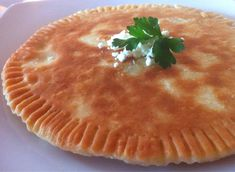 Fried Bread stuffed with Feta Cheese (Tiganopsomo) - My Greek Dish Feta Cheese Recipes, Cheese Pies, Cheese Bread, Greek Fries, Greek Bread, Greek Cake, Eat Greek, Greek Dishes, Main Dishes