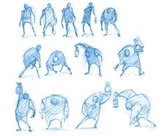 Just doodlin' - the art of michael mccabe character in Illustration Fantasy, Character Illustration, Art Illustrations, Sketch Poses, Drawing Poses, Drawing Tips, Character Poses, Character Drawing, Character Development