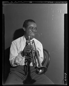Knot tie. Ribbon. Louis Armstrong.