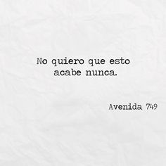 Nunca~