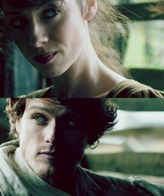 Jamie (Sam Heughan) & Claire (Caitriona Balfe) from the Outlander series on Starz | Episode 3
