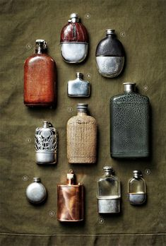 Gift Guide for Guys is part of Vintage flask featured image by brad bridgers for man of the world Year after year, it invariably seems that some of our toughest gift recipients are guys dads, brothe - Oldschool, Antique Bottles, Vintage Bottles, Mans World, Mode Style, Just In Case, Gift Guide, Vintage Antiques, Whiskey