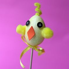 Easter Egg Chick Buddy | Crafts | Spoonful