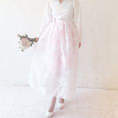 Gmarket - DAHAM - blossom hanbok wedding dress set