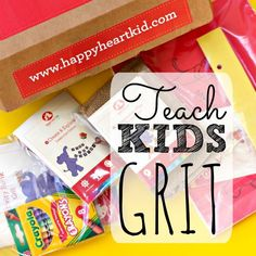 This kit helps teach kids not to give up when faced with a challenge or a struggle.  It includes fun art activities and crafts based around the important lesson of try, try again.   Also contains advice for parents on how to nurture grit in children.  Grit is now a word we use often in our house!