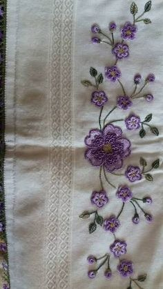and another sample image Saree Embroidery Design, Zardozi Embroidery, Embroidery Hoop Crafts, Hand Work Embroidery, Embroidery Flowers Pattern, Flower Embroidery Designs, Hand Embroidery Stitches, Silk Ribbon Embroidery, Embroidery Applique