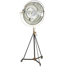 Monumental Surgical Lamp | From a unique collection of antique and modern floor lamps at https://www.1stdibs.com/furniture/lighting/floor-lamps/