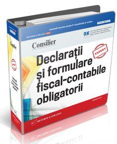 Consilier Declaratii si formulare fiscal-contabile obligatorii