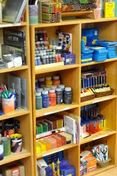 waldorf art supplies VERY cool store!!! (You can buy these supplies less expensive if you see something like wax Crayons?  Google the name and find an art supply carrier....always expensive in the actual Waldorf stores)