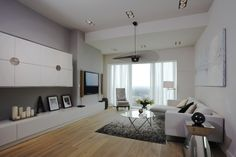 Apartament pokazowy na 44.piętrze #SKYTOWER