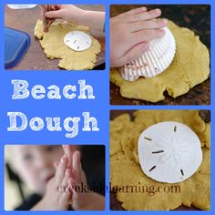 Recipe for no-cook homemade play dough you can make in your stand mixer...the look of sand and the feel of soft play dough