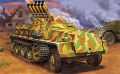 150mm Panzerwerfer 42 (Zehnling)