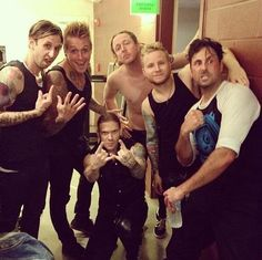 Papa Roach and Shinedown <3  Why Yes I would like to party with you all!