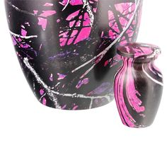 Muddy Girl Camouflage Keepsake Cremation Urn for Ashes   Available at Stardust Memorials