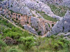 Paisaje de Castellote en el #Maestrazgo de #Teruel