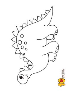 Dinosaur Colouring Page Best Picture For Dinosaur skull For Your Taste You are looking for something, and it is going to tell you exactly what you are looking for, and you didn't find that picture. Dinosaur Illustration, Hand Illustration, Dinosaur Coloring Pages, Coloring Pages For Kids, Dinosaur Balloons, Dinosaurs Preschool, Dinosaur Drawing, Dinosaur Pattern, Dinosaur Template