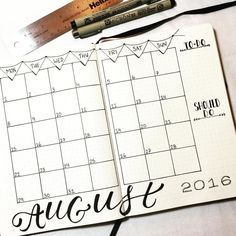 "212 Likes, 9 Comments - Plan Your Planner (@planyourplanner) on Instagram: ""#monthlyspread for #August Anyone else have things you need to do and things you really SHOULD do…"""