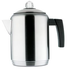 Copco Brushed 4 to 8-Cup Stainless Steel Stovetop Percolator *** Click image to review more details.
