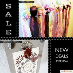 Today Only! 10% OFF this item. Follow us on Pinterest to be the first to see our exciting Daily Deals.  Today's Product: Nursery Wall Hanging, Little Girl Decor, Pastel Baby Room, Colorful Tie Dye Decor, Rag Tie Artwork, Baby Shower Gift, Gypsy Tapestry, Hippie.  Buy now: https://orangetwig.com/shops/AAAm6G3/campaigns/AACDjZB?cb=2016002&sn=TheGypsyBirdcage&ch=pin&crid=AACDjJg&exid=207003963