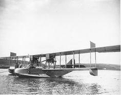 US Naval Aircraft Factory H-16 circa 1918.