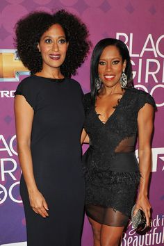 Tracee Ellis Ross and Regina King