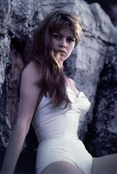 Brigitte Bardot by Philippe Halsman.