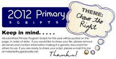 2012 Primary Program Scripts