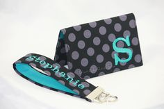 Personalized business card holder booklet custom made business card personalized business card holder and key fob by gisellasdesigns colourmoves