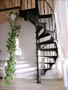 Escalier colimaçon / Spiral staircase Paris