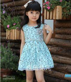 Baby Dresses Girls Floral Dress