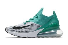 8dba7346775dd0 Nike Air 270 Flyknit White Colorful women s Running Shoes in 2019 ...