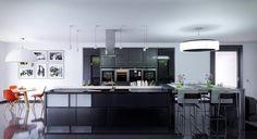 Dark Kitchen Design