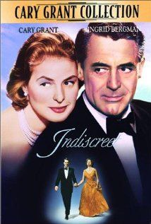 """""""Indiscreet"""" reteams Cary Grant and Ingrid Bergman once again, this time in color and comedy.  They made a great team!"""