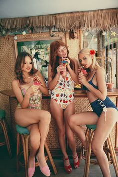 """The Look: """"Charlie's Angels"""" - WILDFOX """"Angels Off Duty"""" Resort 13-14"""