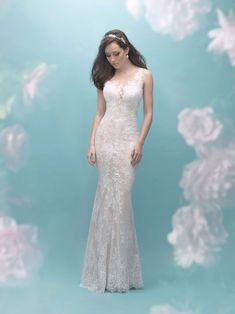 7bbb005440d5 Allure Bridal Collection Fall 2017 - Style 9455 Allure Bridals, Wedding  Dress Prices, Wedding