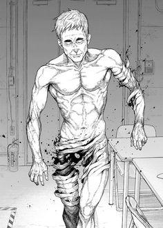 Read manga Ajin - The Man Trap 002 online in high quality Ajin Manga, Ajin Anime, Manga Art, Manga Anime, Anime Art, Character Design Animation, Character Art, Ero Guro, Demi Human