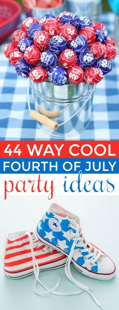 When its up to you to plan the perfect Fourth of July party sometimes it can be overwhelming. Lucky for you were here to help with these fun and easy Way Cool Fourth of July Party Ideas! July 4th Holiday, Fourth Of July Food, 4th Of July Celebration, 4th Of July Party, Diy Party Games, Diy Party Crafts, Party Ideas, Party Fun, Patriotic Crafts