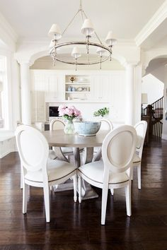 Streamlined Traditional Dining Room