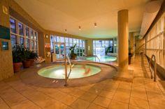 Relax in the hot tub or take a swim in the indoor heated pool. #perdidobeachresort