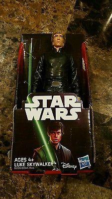 "Luke Skywalker 6"" Inch Action Figure Star Wars Hasbro Return of The Jedi Disney"