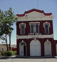 Tombstone Arizona old City Hall - Modern Wyatt Earp Tombstone, Tombstone Arizona, Wild West Outlaws, Dodge City, Arizona Travel, Old City, Old West, Ghost Towns, Wonderful Places